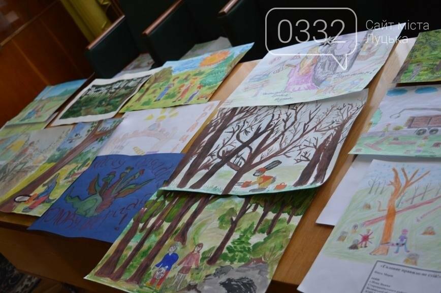 На Волині визначили переможців конкурсу дитячого малюнка про безпечну працю у лісі, фото-1