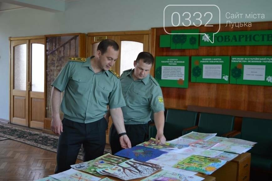 На Волині визначили переможців конкурсу дитячого малюнка про безпечну працю у лісі, фото-2