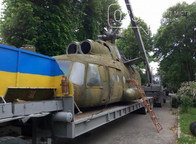 З луцького військового музею забрали на відновлення вертоліт та ракету (ФОТО), фото-5
