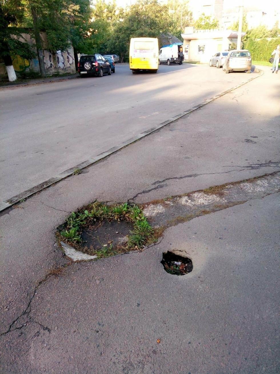 У Луцьку на Богдана Хмельницького провалюється ґрунт, фото-2