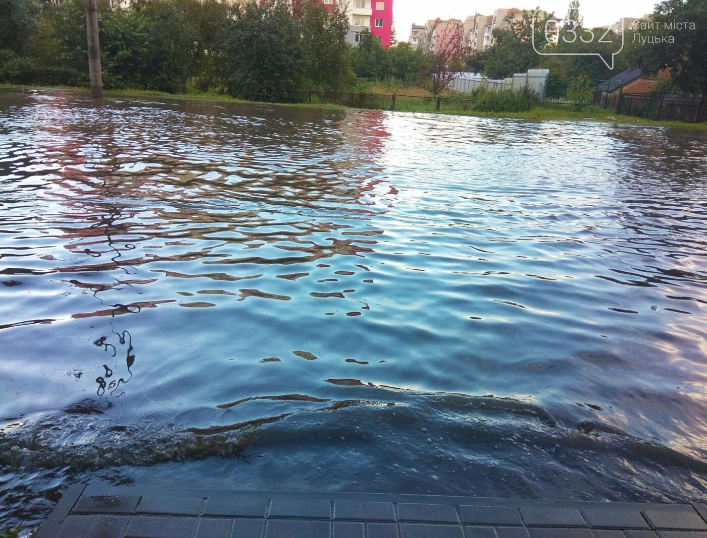 У Луцьку затопило 40-ий квартал (ФОТО), фото-4