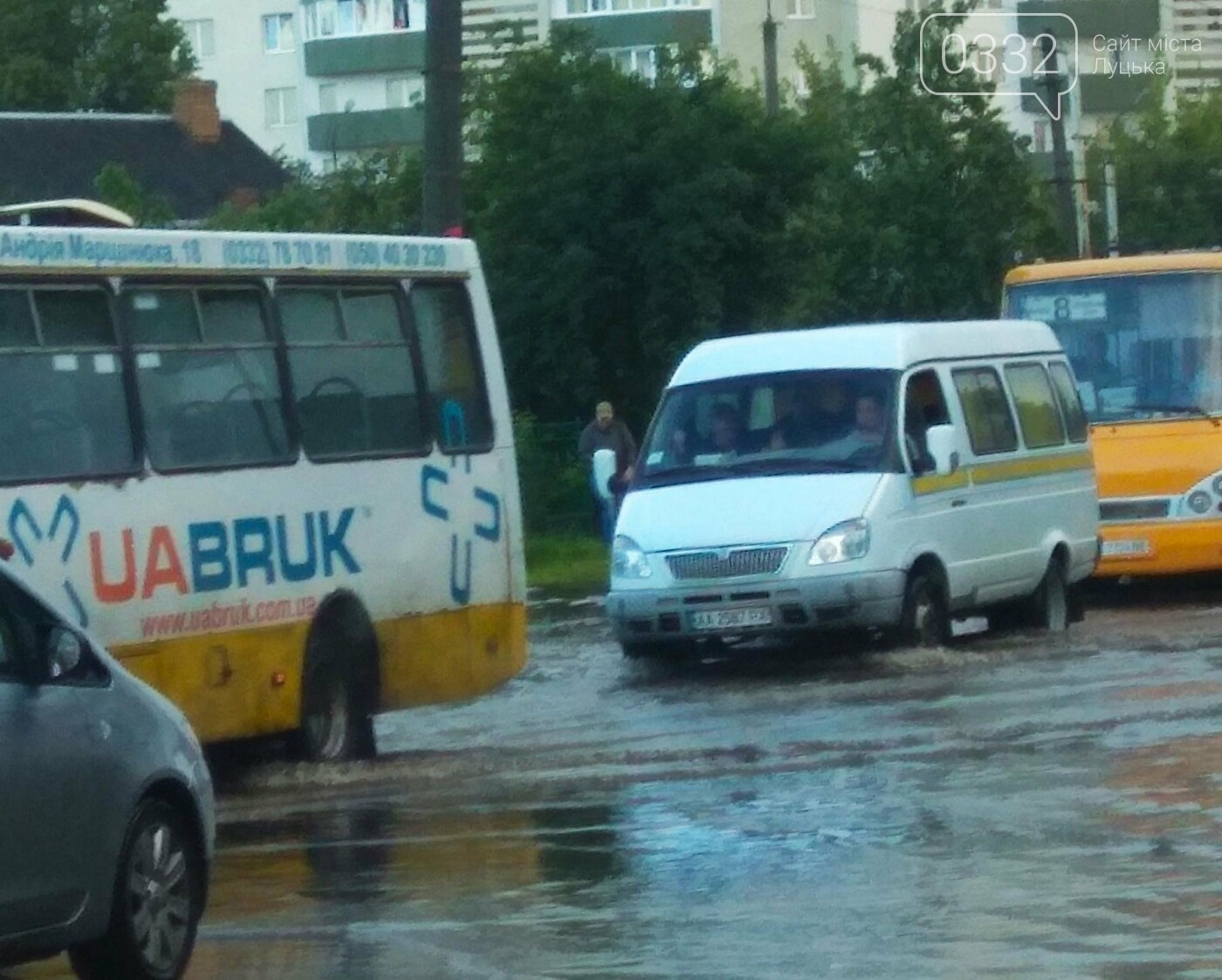 У Луцьку затопило 40-ий квартал (ФОТО), фото-2