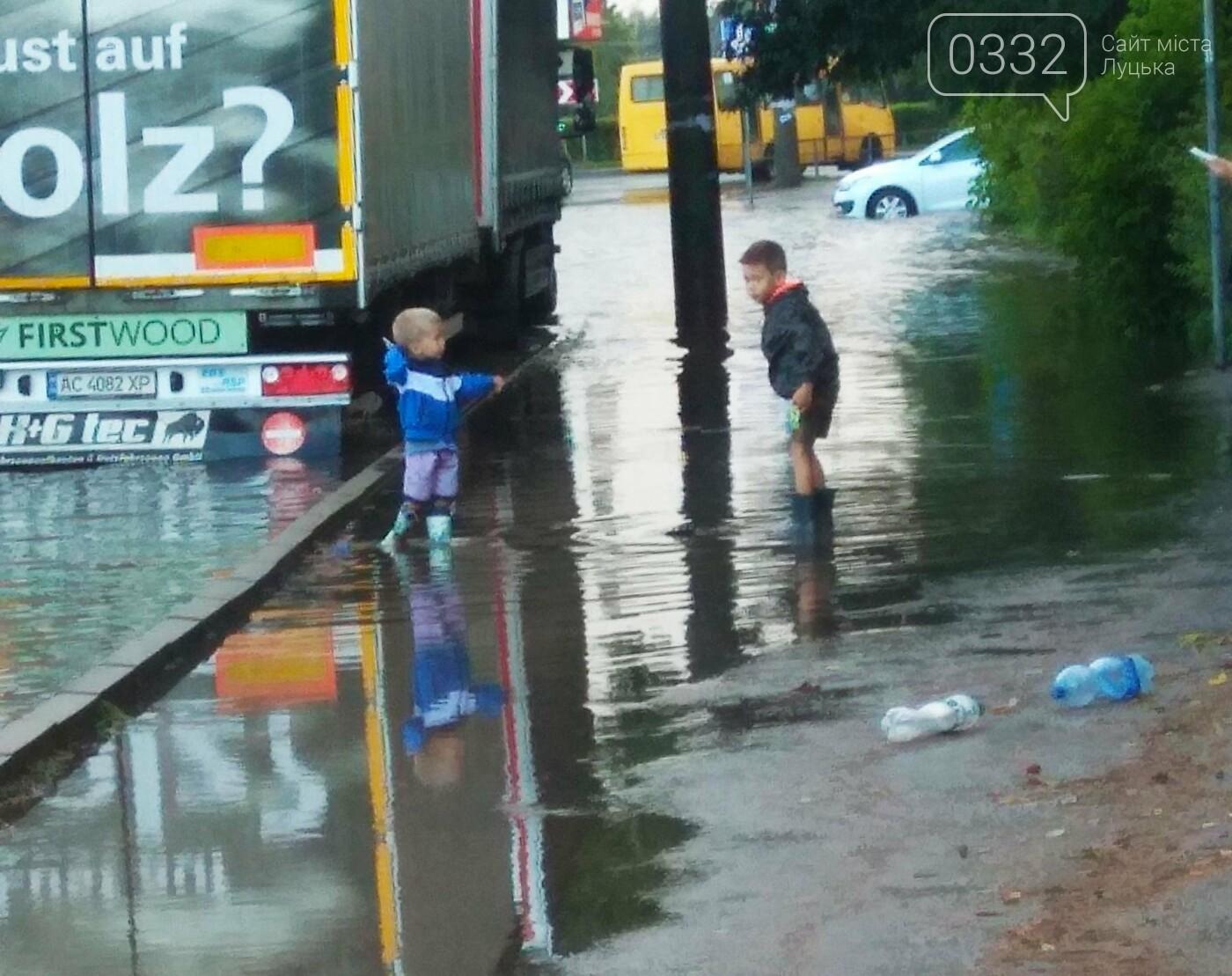 У Луцьку затопило 40-ий квартал (ФОТО), фото-5