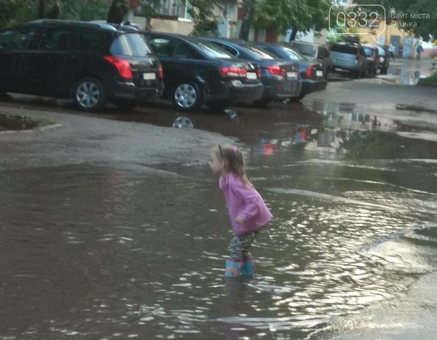 У Луцьку затопило 40-ий квартал (ФОТО), фото-6