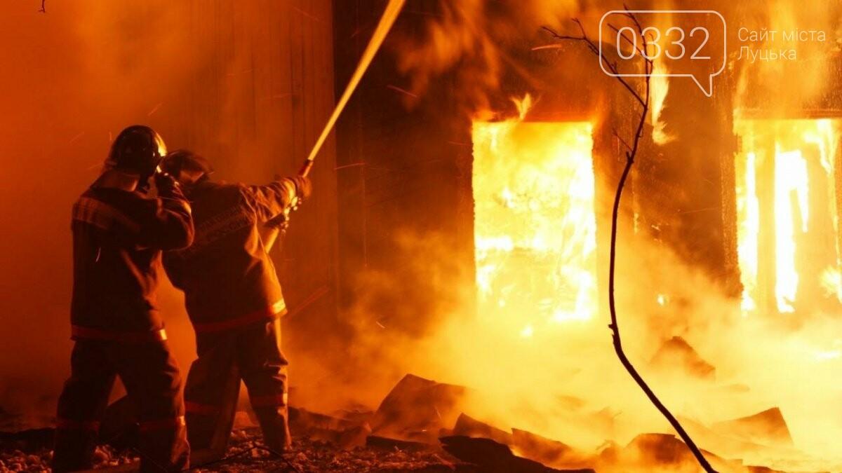 В пожежі на Волині згорів чоловік, жінку – госпіталізували, фото-1