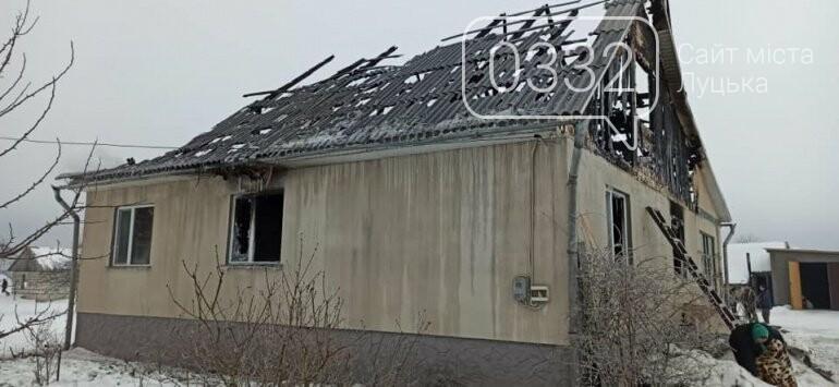 На Волині у поліцейського згорів будинок, фото-1