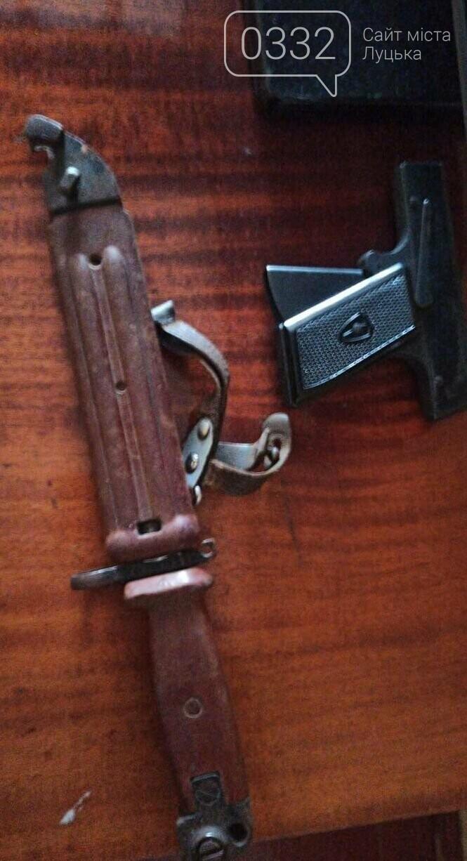 Під час обшуків в оселях волинян вилучили бурштин та зброю, фото-3