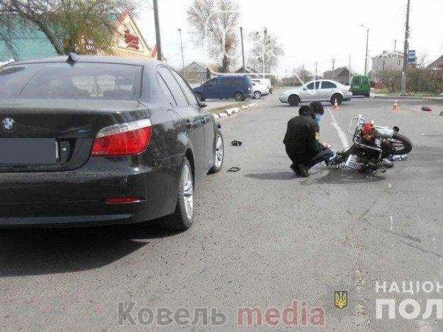 За збиття у Ковелі мопедиста водій BMW відбувся умовним покаранням, фото-1