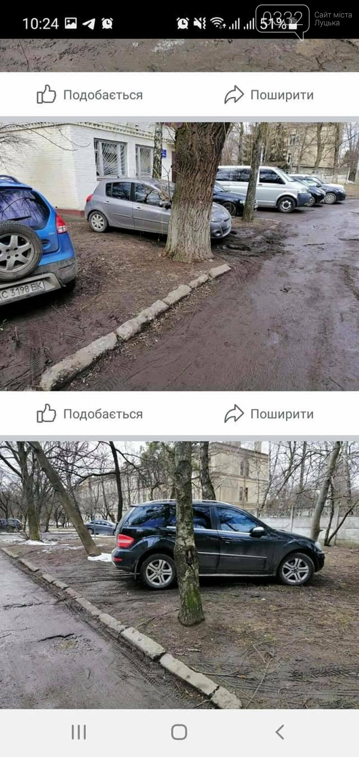 У Луцьку муніципали щодня штрафують «автохамів», які влаштували парковку на газоні, фото-6