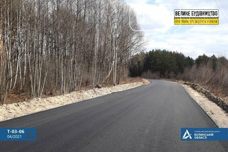 На Волині показали відремонтовану ділянку дороги до Шацьких озер, фото-1