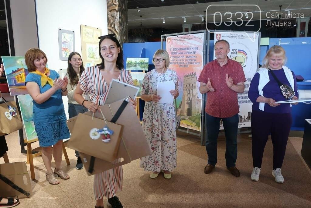 У Луцьку нагородили юних учасників конкурсу-пленеру «Луцький замок», фото-21