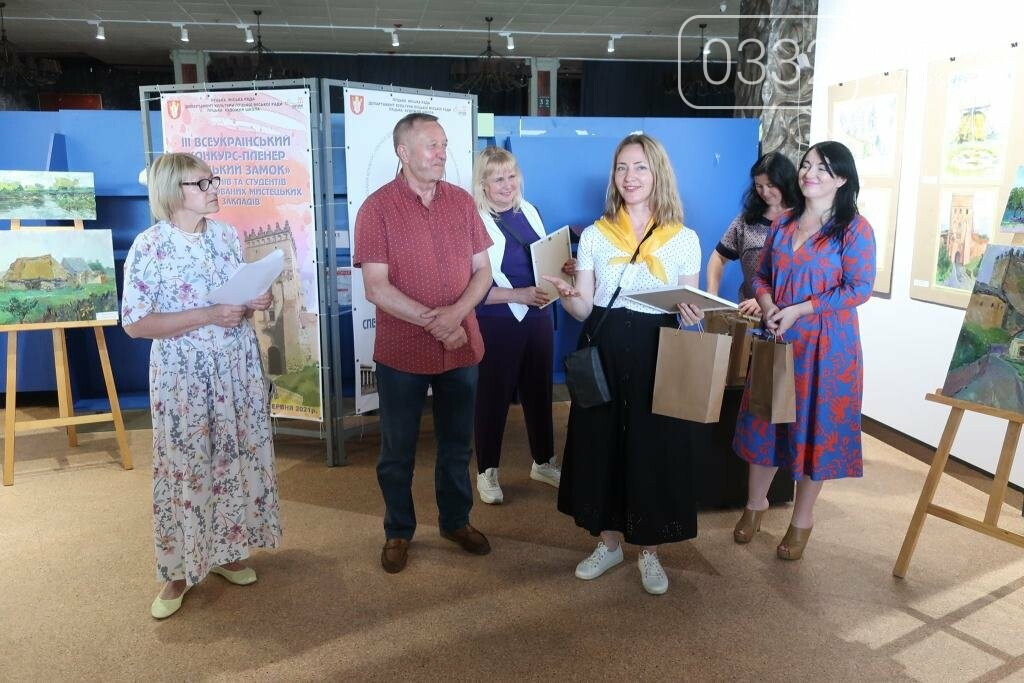 У Луцьку нагородили юних учасників конкурсу-пленеру «Луцький замок», фото-26