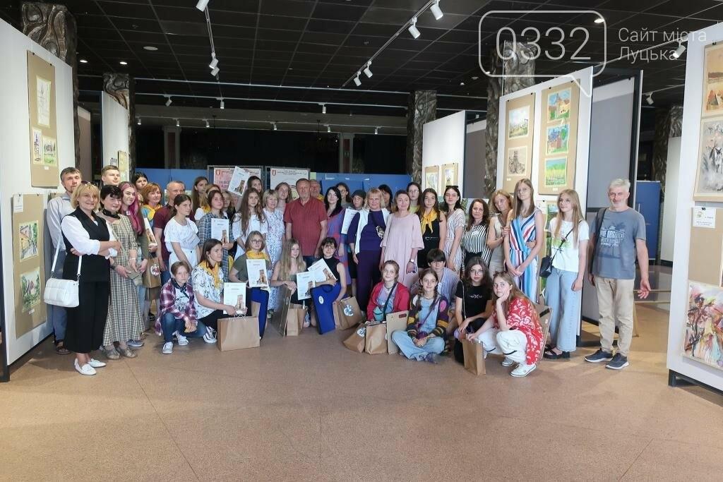 У Луцьку нагородили юних учасників конкурсу-пленеру «Луцький замок», фото-8