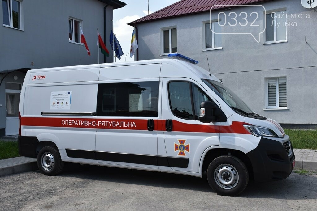 Волинським рятувальникам надійшов новий спеціальний автомобіль, фото-1