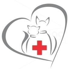 Логотип - Вірний Друг, ветеринарний кабінет
