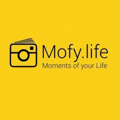 Логотип - Інстабуки від Mofy.Life в Україні. Сервіс друку фотокниг онлайн