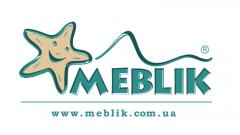 Логотип -  Meblik - дитяча та молодiжна мебель в салонi Меблі і Дизайн