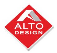 Логотип - Альто Дизайн, натяжні стелі