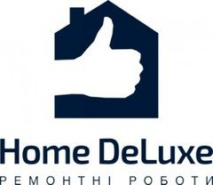 Логотип - Home DeLuxe, ремонтні роботи