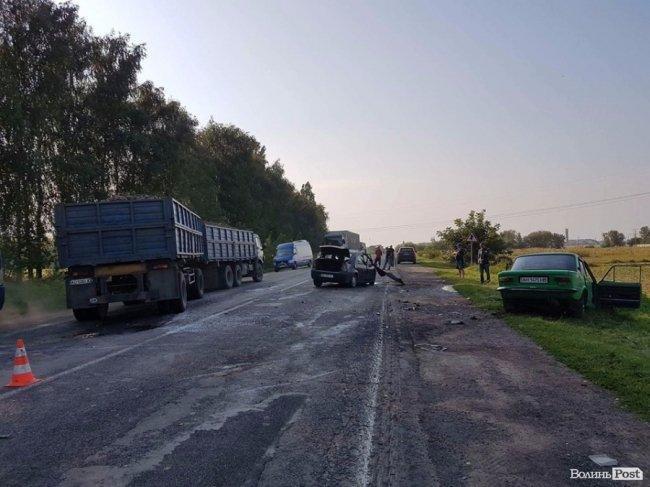 ДТП на трасі «Луцьк-Рівне»: є потерпілі (ФОТО), фото-2
