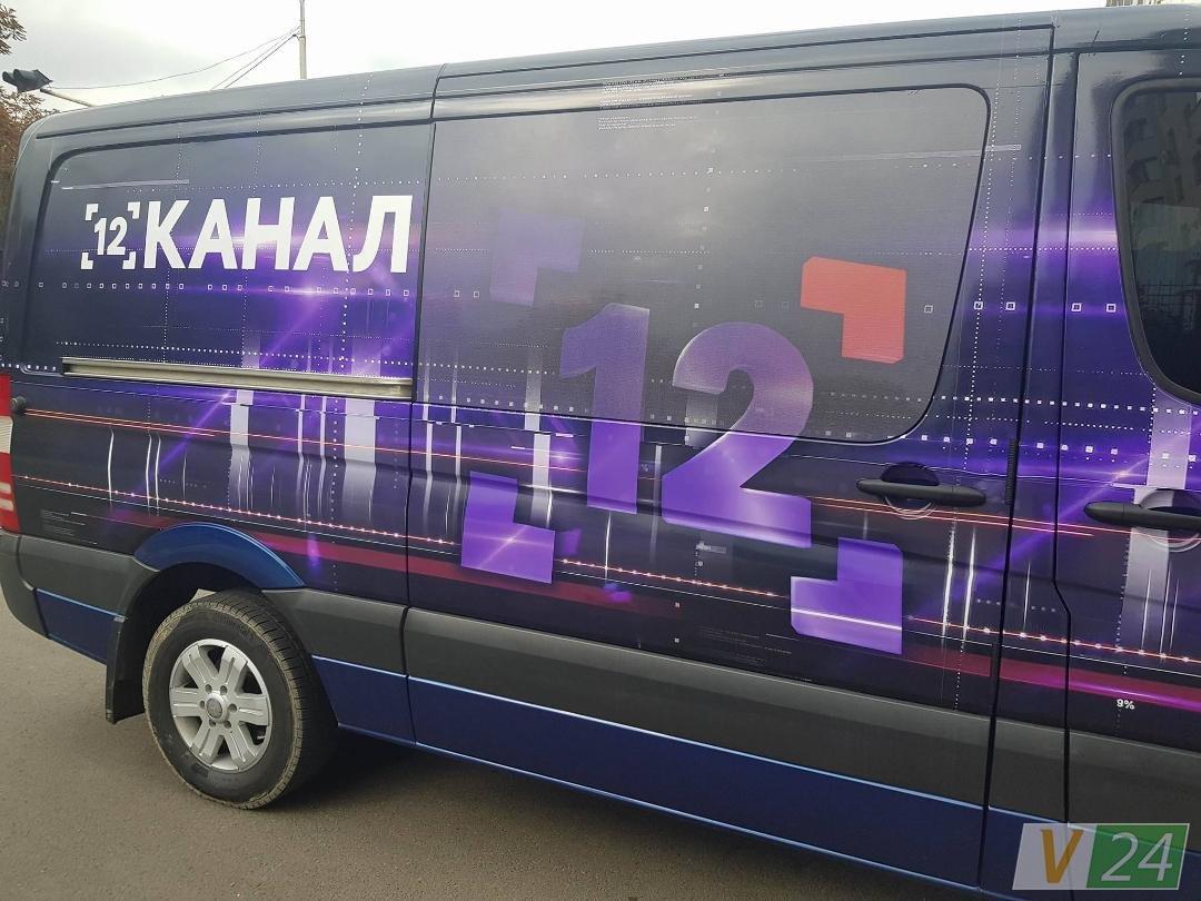 Брендований автомобіль «12 каналу» з'явився на вулицях Луцька, фото-5