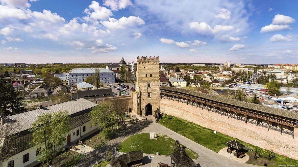 Луцький замок з висоти пташиного польоту, фото-2