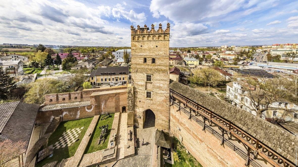 Луцький замок з висоти пташиного польоту, фото-5