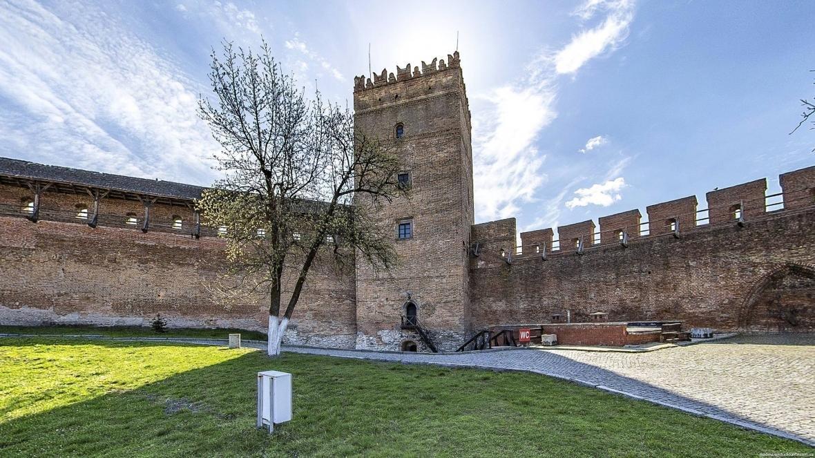 Луцький замок з висоти пташиного польоту, фото-6