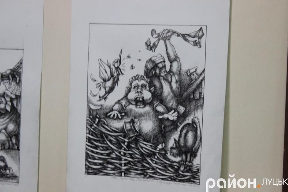 «Це дуже забута техніка», - художник про виставку у Луцьку (ФОТО), фото-2