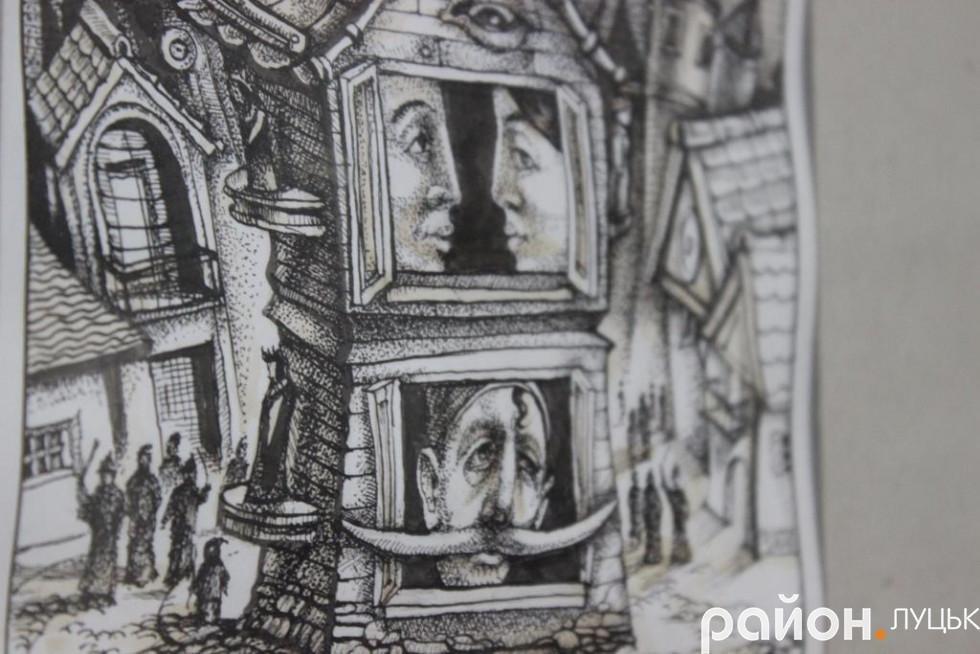 «Це дуже забута техніка», - художник про виставку у Луцьку (ФОТО), фото-4