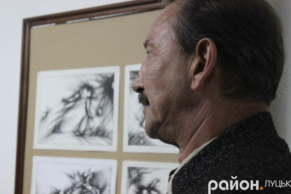 «Це дуже забута техніка», - художник про виставку у Луцьку (ФОТО), фото-3