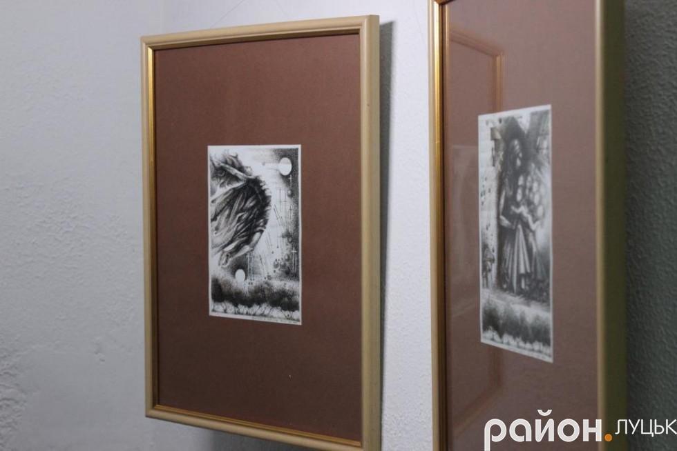 «Це дуже забута техніка», - художник про виставку у Луцьку (ФОТО), фото-5