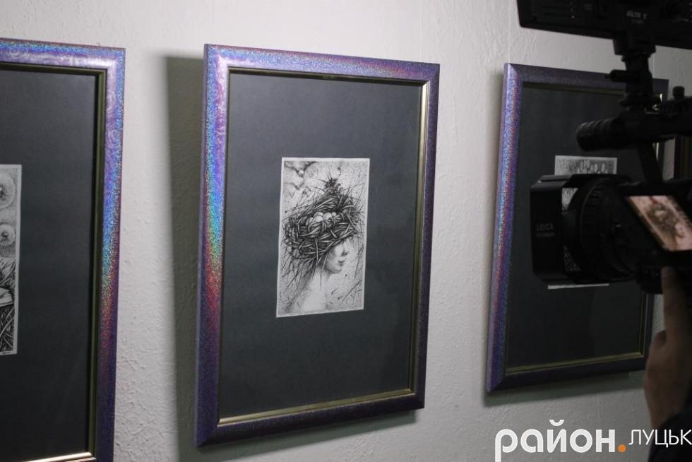 «Це дуже забута техніка», - художник про виставку у Луцьку (ФОТО), фото-6