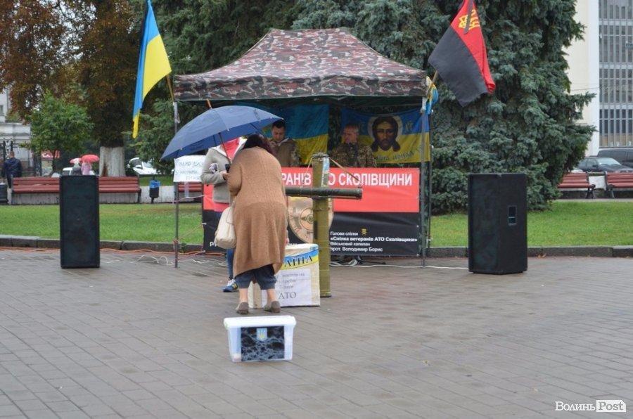 На Театральному майдані Луцька - збір коштів для українських воїнів, фото-5