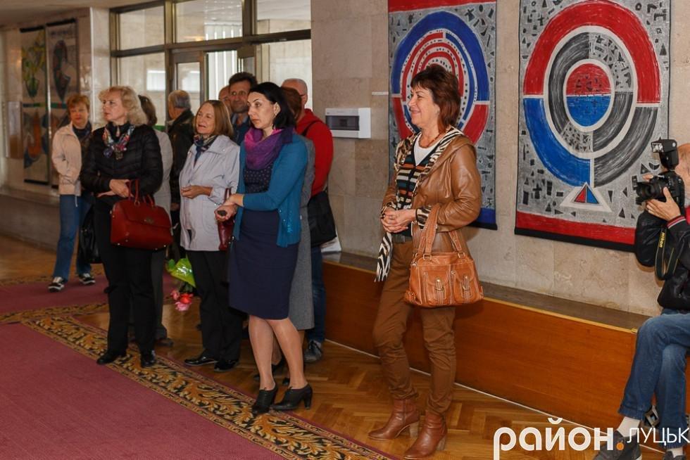 У Луцьку відкрилась виставка робіт в техніці гобелену, фото-3