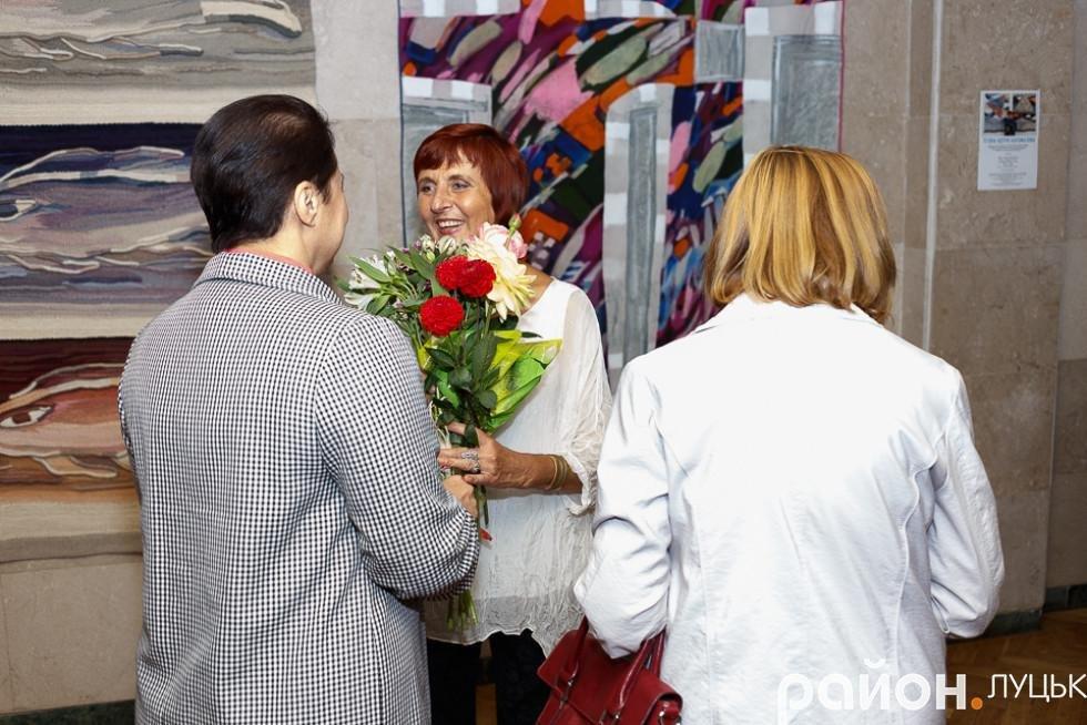 У Луцьку відкрилась виставка робіт в техніці гобелену, фото-4