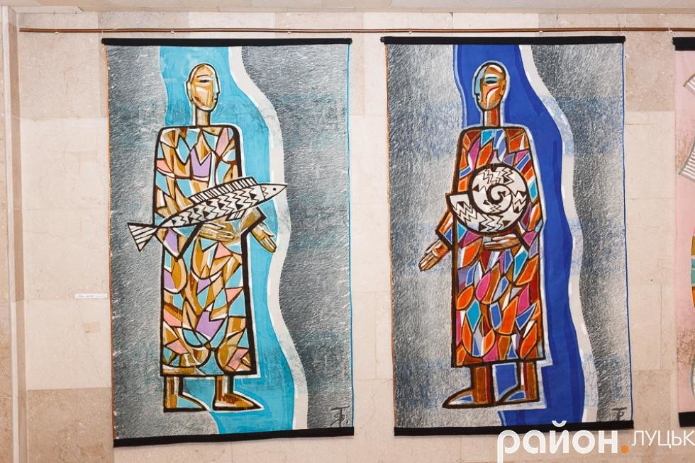 У Луцьку відкрилась виставка робіт в техніці гобелену, фото-7
