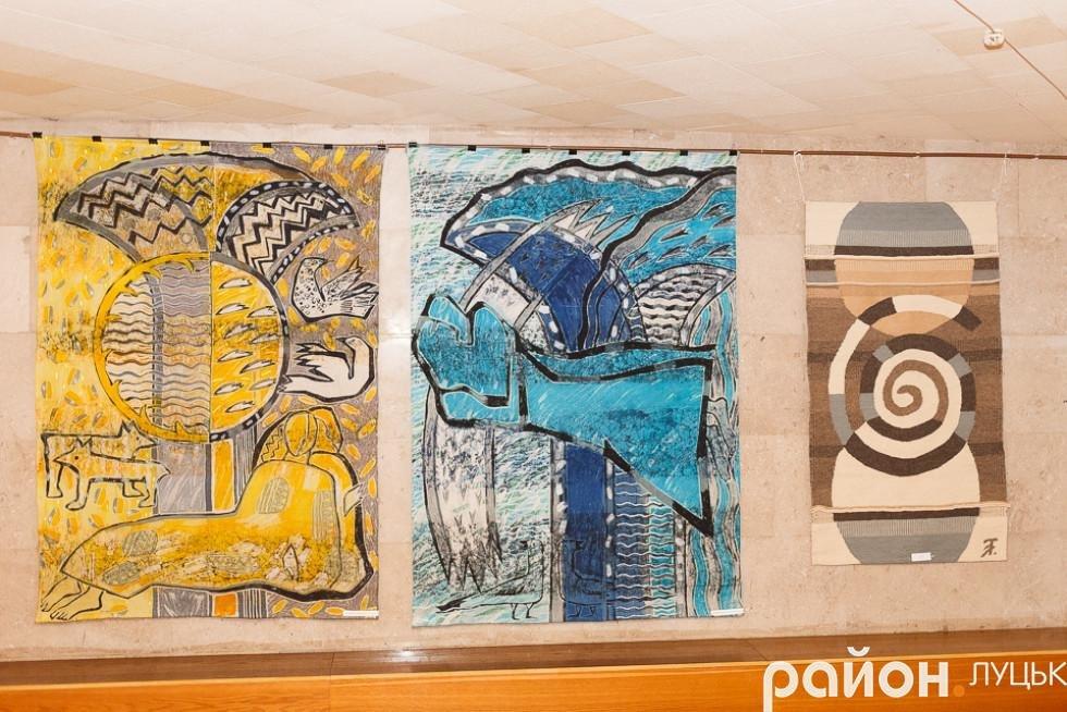 У Луцьку відкрилась виставка робіт в техніці гобелену, фото-9