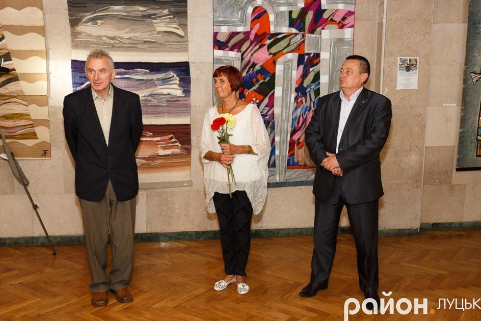 У Луцьку відкрилась виставка робіт в техніці гобелену, фото-2