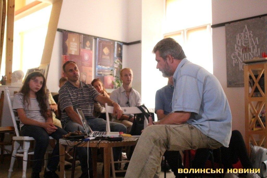 У Луцьку провели майстер-клас  для любителів анімації, фото-1