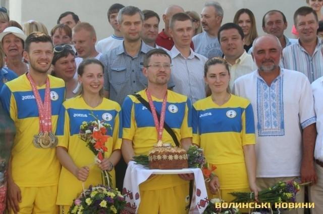 Волиняни-дефлімпійці отримали державні нагороди, фото-2