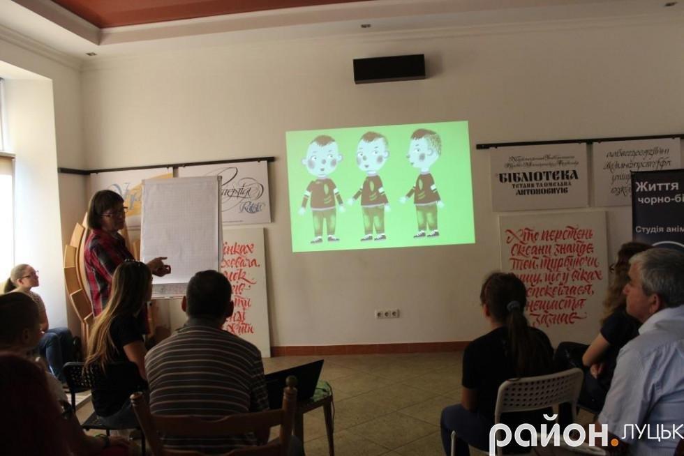 Українська художниця вчила лучан малювати мультфільми, фото-6