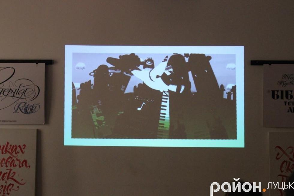 Українська художниця вчила лучан малювати мультфільми, фото-1