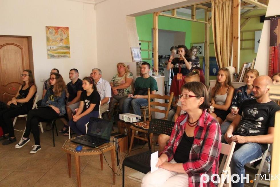Українська художниця вчила лучан малювати мультфільми, фото-9