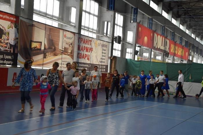В «Адреналін-сіті» - спортивні змагання для дітей із особливими потребами, фото-3
