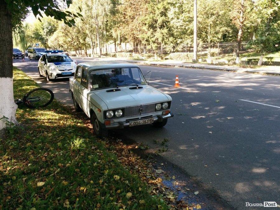 У Луцьку ДТП за участі велосипедиста, фото-3