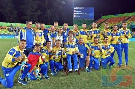 В цей день рік назад чоловіча футбольна збірна України стала чемпіоном Параолімпіади, фото-1