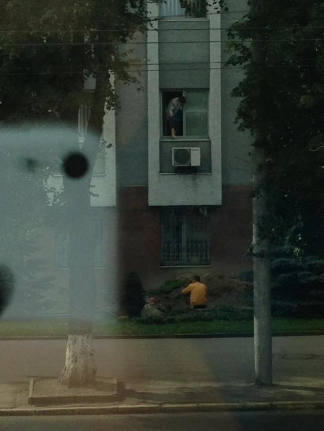 Чистота без страховки : як миють вікна в СБУ, фото-2
