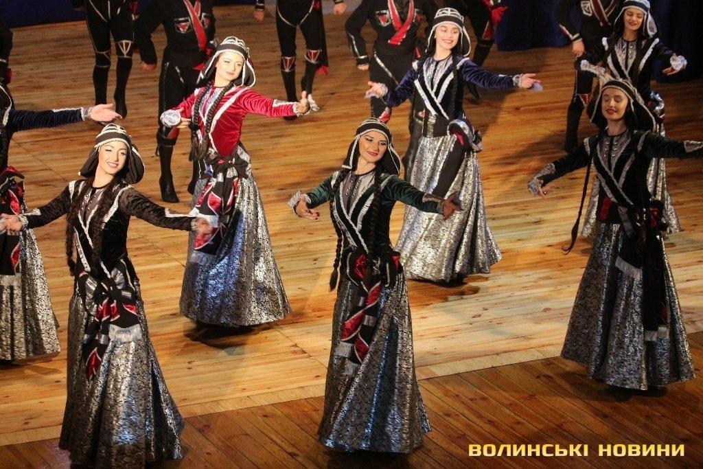 Грузинський ансамбль «запалював» луцьку публіку (ФОТО), фото-9