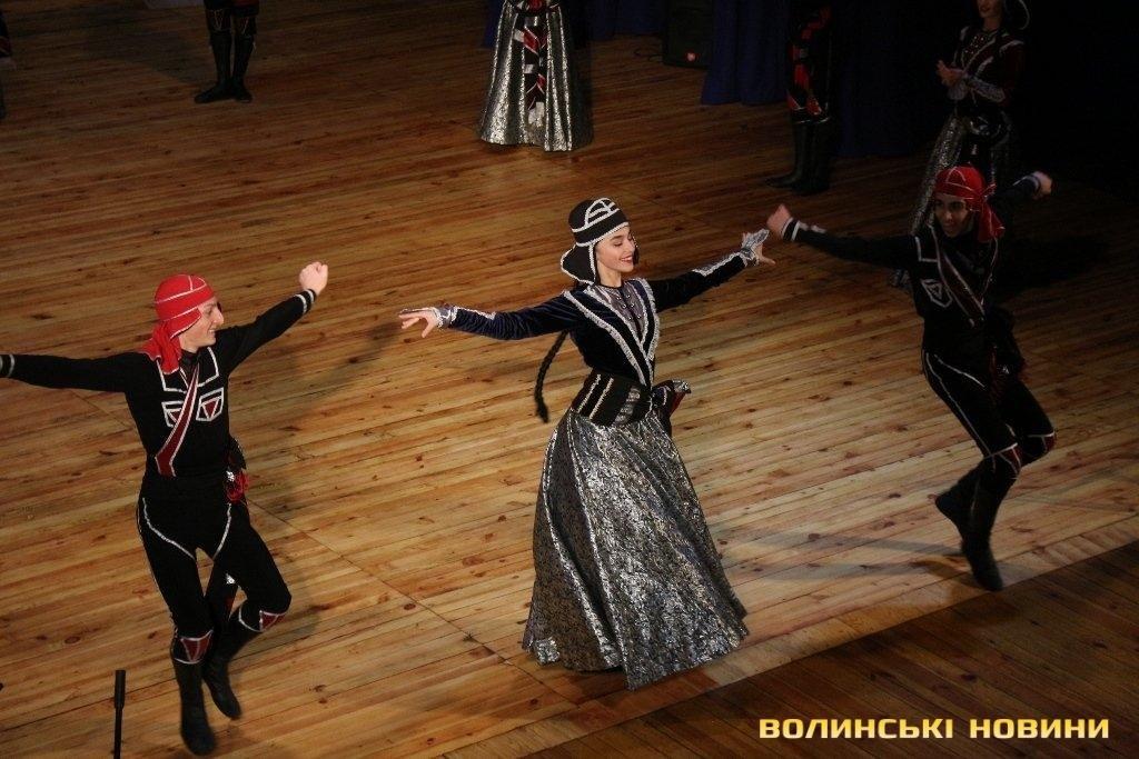Грузинський ансамбль «запалював» луцьку публіку (ФОТО), фото-6